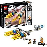 LEGO Star Wars - Le Podracer d'Anakin – Édition 20ème Anniversaire - Jeu de construction - 75258