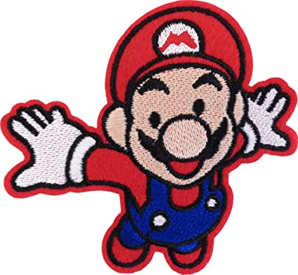Patch Iron-On Super Smash Bros.Embroidered Applique Patches For Jackets