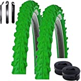 Profex 60036 - Cubierta de Bicicleta de montaña (24 x 1,95/2,0), Color Negro: Amazon.es: Deportes y aire libre