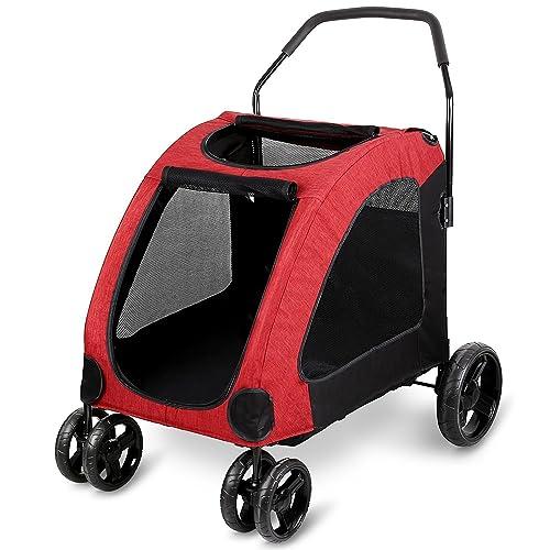 Pet Gear At3 Dog Stroller Amazon Co Uk Pet Supplies
