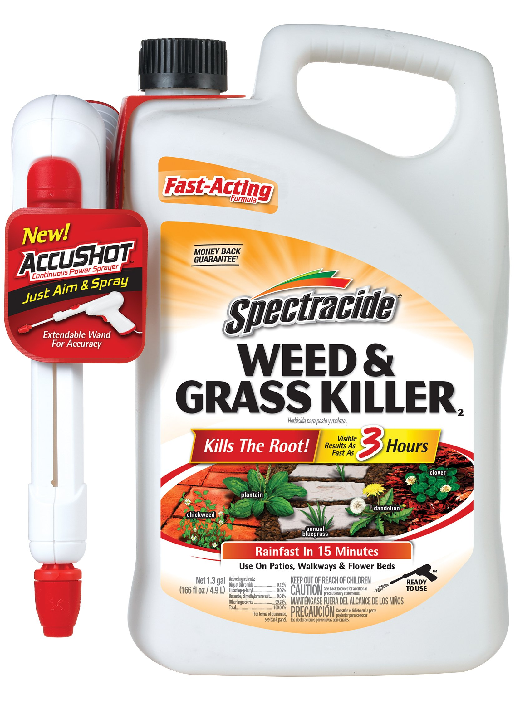 Spectracide Weed & Grass Killer2 (AccuShot Sprayer) by Spectracide (Image #1)