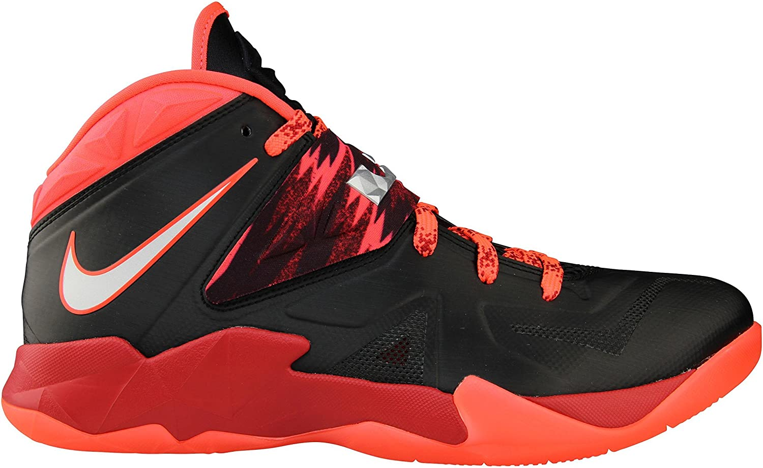 Charles Keasing Londres Volcán  Amazon.com | Nike Men's Lebron Zoom Soldier VII PP Basketball Shoes  Black/Metallic Silver/Gym Red/Bright Crimson 609679-005 (10) | Shoes
