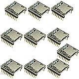 Rasbee ミニMP3 プレーヤーモジュール DF-Player MP3-TF-16P ミニプレーヤー arduinoのための 10個
