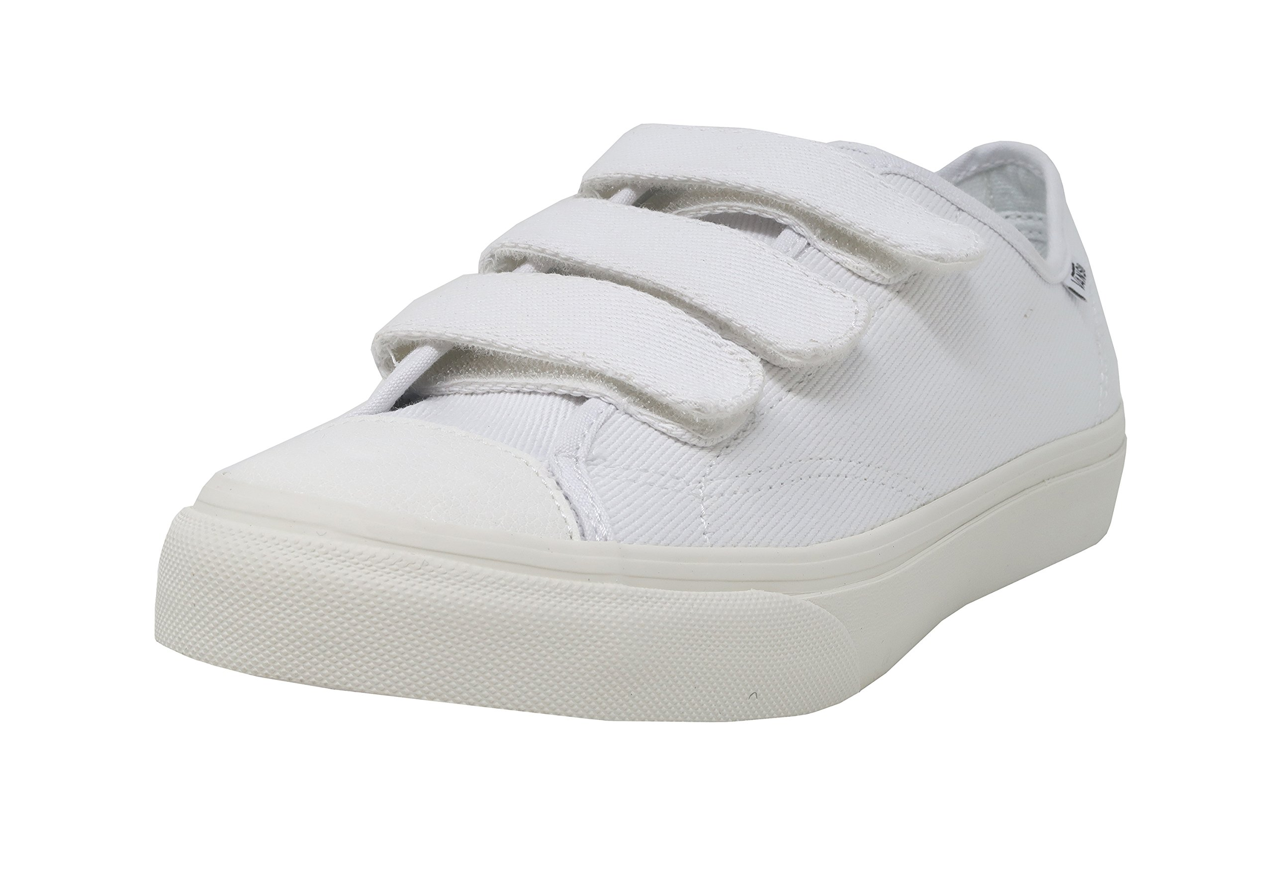 Vans Unisex Shoes Prison Issue True White/ Off White (Twill) Fashion Sneaker (9.5 Mens /11 Womens) by Vans