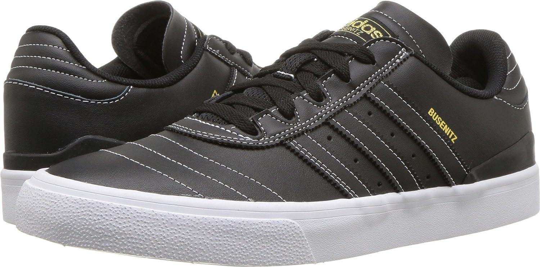 adidas Originals Men's Busenitz Vulc Fashion Sneaker 9 D(M) US|Black / Black-white