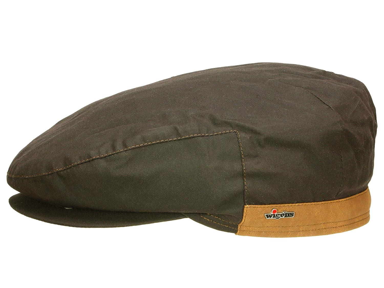 9a7158e136e Wigens Men Flat Cap Viggo - Brown - 61  Amazon.co.uk  Clothing