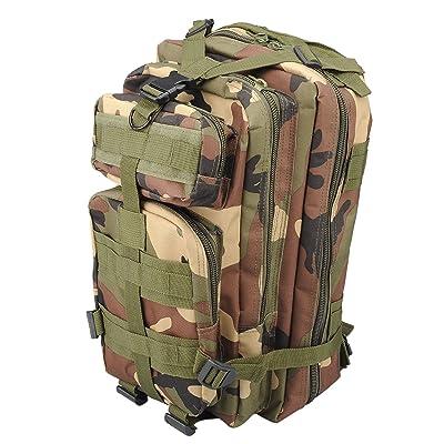 30L Sac à Dos Tactique Militaire Molle étanche Sac de Sport de Plein Air pour Camping Randonnée Alpinisme Voyage Sac à Dos 3P US Assault
