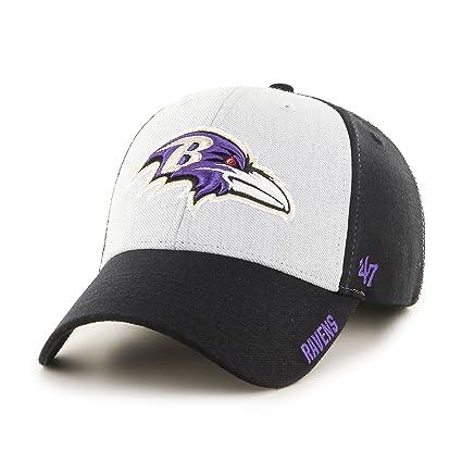 59be18b7110401 Amazon.com : '47 NFL Baltimore Ravens Beta MVP Hat, One Size, Black ...