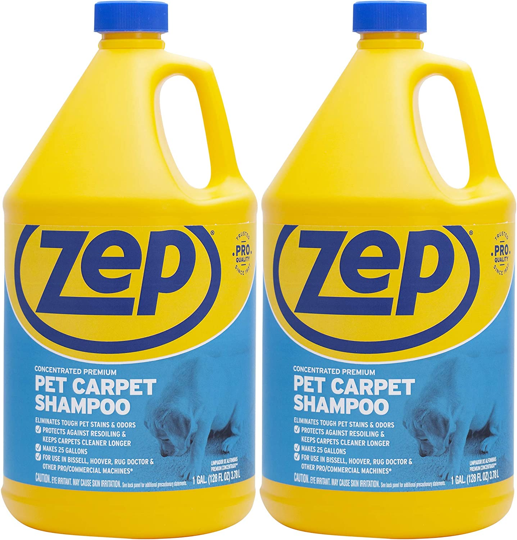 Zep Premium Pet Carpet Shampoo 128 ounce (Pack of 2)