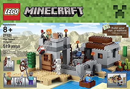 Amazon.com: Minecraft juguetes de construcción LEGO 519 Pcs ...