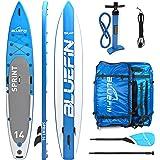 Bluefin SUP BLUEFIN Tavola da SUP Stand Up Paddle Gonfiabile | Modello Sprint 14' | Modello per Race o Touring | Completa di tutti gli Accessori