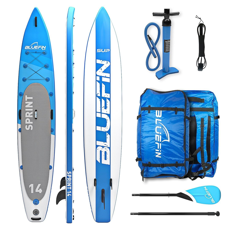 Bluefin Tabla de Stand Up Paddle Surf Sup Hinchable | Modelo Sprint DE 14| Modelo Touring/Carrera| Completa con Todos los Accesorios: Amazon.es: Deportes y ...