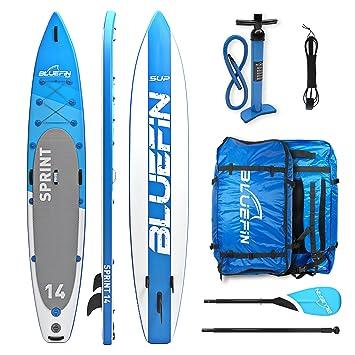 Bluefin Tabla de Paddle Surf Hinchable de 14 | 15cm de Espesor | Remo Liviano