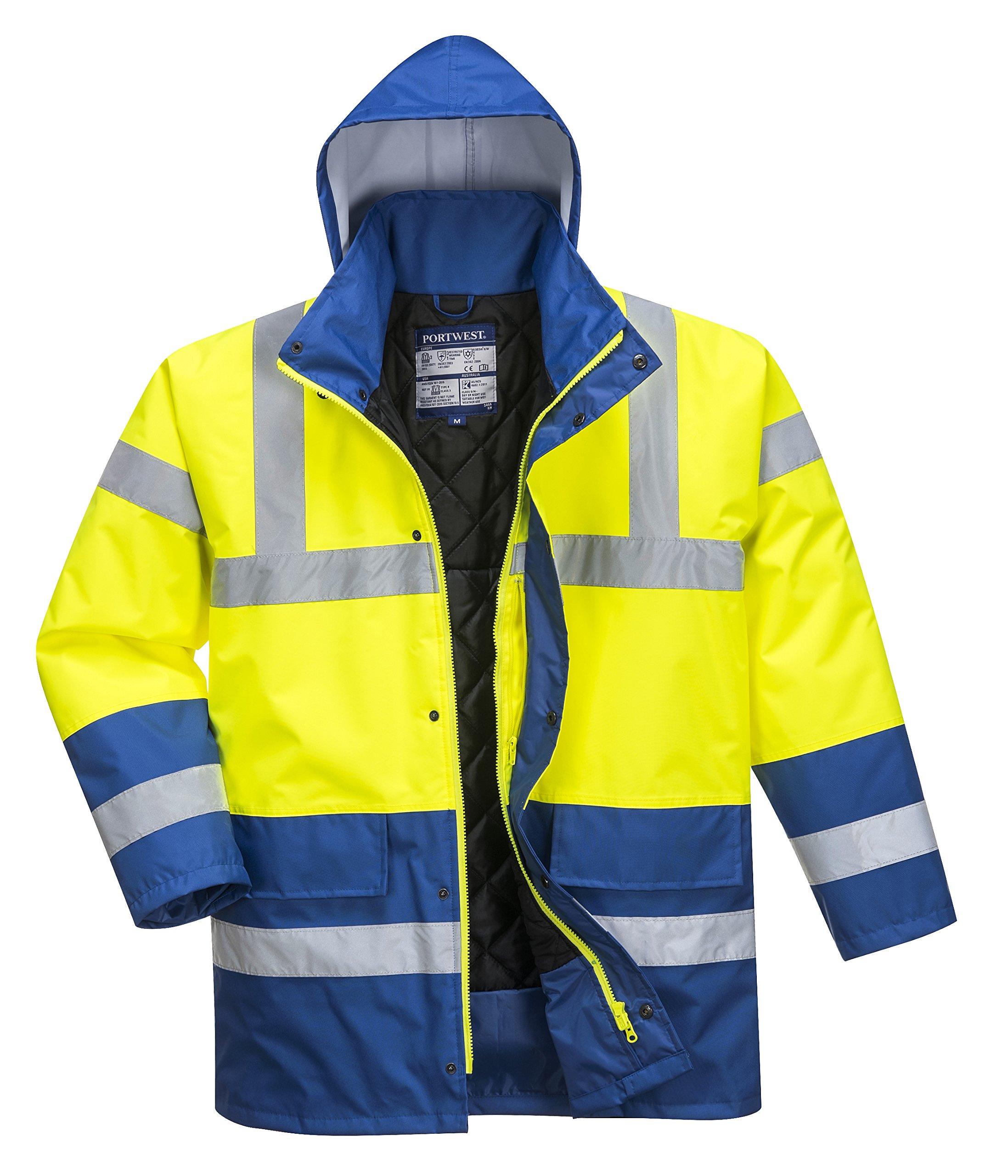 Portwest Workwear Mens Hi-Vis Lite Bomber Jacket