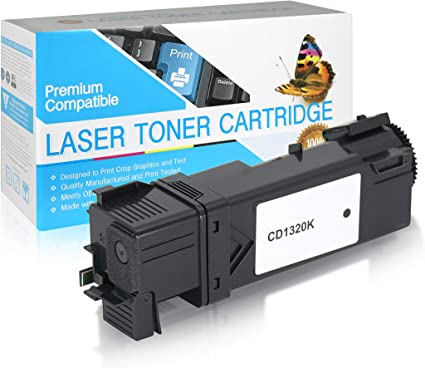 Yellow 1320C Works with On-Site Laser Compatible Toner Replacement for Dell 310-9062
