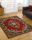 Lord of Rugs Tapis traditionnel très grand format Rouge 180 x 250 cm