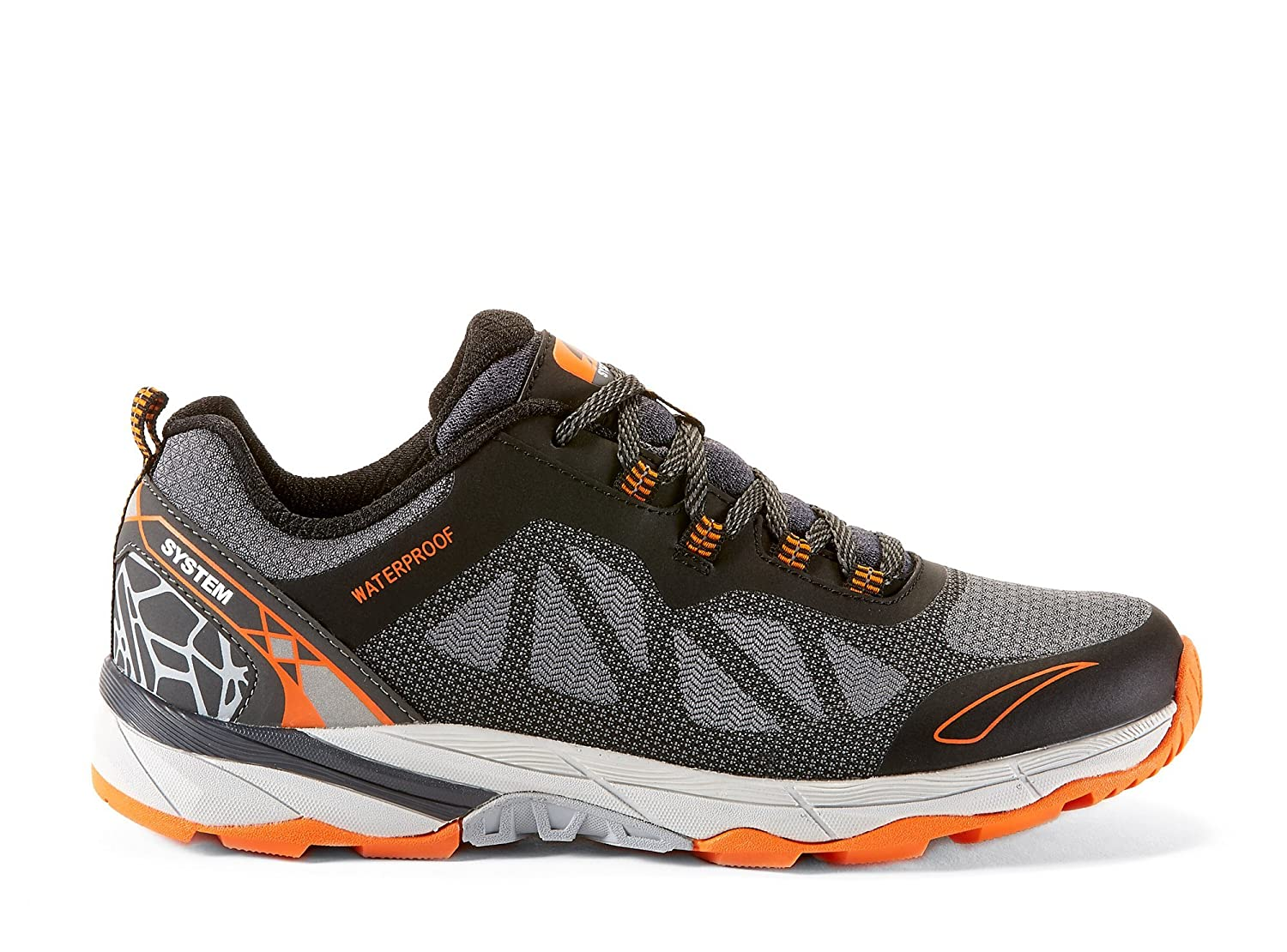 Canyon Ridge Mens Hiking & Trekking Waterproof Shoes - Casual & Comfortable - Lightweight and Breathable Knitted Fabric Upper & Mesh Fabric - Perfect for Spring Summer Fall Winter CANYON RIDGE-P
