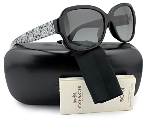 041aace31fb Image Unavailable. Image not available for. Color  COACH HC8036F L518 Pamela  Sunglasses ...