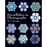 Snowflakes in Photographs (Dover Pictorial Archive) book cover