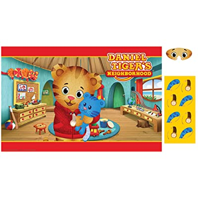 Amscan Daniel Tiger's Neighborhood Party Game: Health & Personal Care