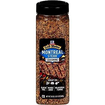 McCormick Grill Mates 29-ounce Montreal Steak Seasoning BBQ Rub