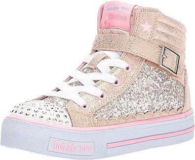 pedestal Iniciar sesión Reproducir  Skechers Kids Girls' Shuffles-Glitter Girly Sneaker,Gold/Pink,12.5 Medium  US Little Kid: Amazon.ca: Shoes & Handbags