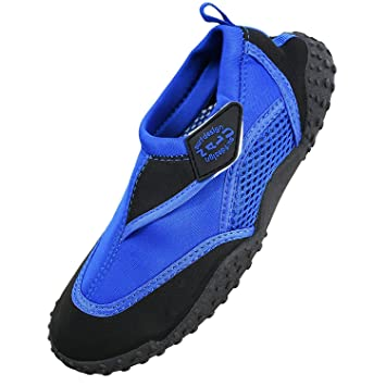 Nalu - Zapatillas de agua para adultos, color azul Talla:6: Amazon.es: Zapatos y complementos