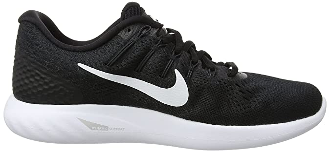 reputable site 62e53 89860 ... top quality amazon nike lunarglide 8 womens running shoe black white  anthracite 6.5 us fashion sneakers ...