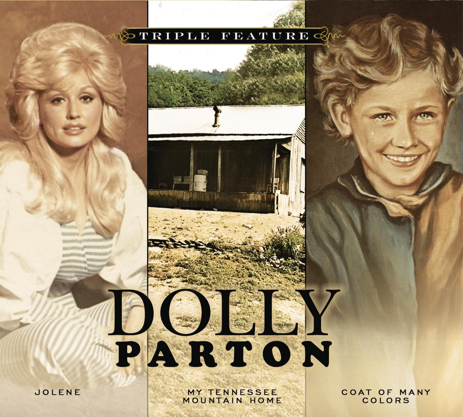 dolly parton coat of many colors my tennessee mountain home jolene amazoncom music - Dolly Parton Coat Of Many Colors Book
