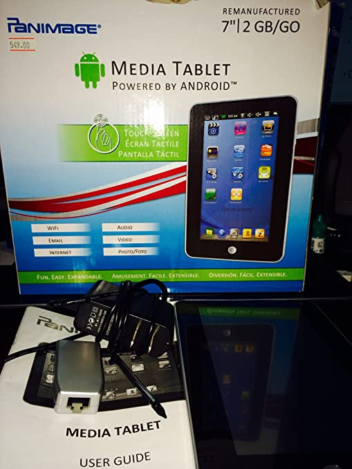 Amazon.com : Panimage Media Tablet Powered By Android ...