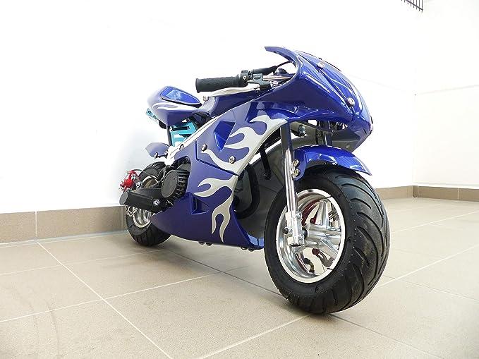 Rv Racing Pocket Bike Dirtbike Pocket Racing Bike Mini Bike 49 Cc Children S Motorbike Racing Bike Sport Freizeit