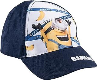 Minions Despicable Me Ragazzi Berretto da baseball - blu marino