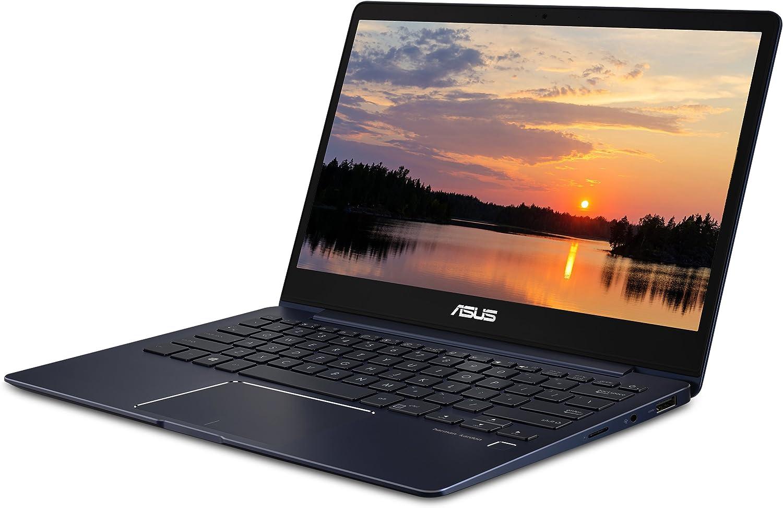 "Asus ZenBook 13 UX331UN-WS51T Ultra-Slim Laptop 13.3"" FHD Touch Display, 8th Gen Intel Core i5 Processor, 8GB RAM, 256GB SSD, NVIDIA MX150, Windows 10, Backlit Kbd, Fingerprint"