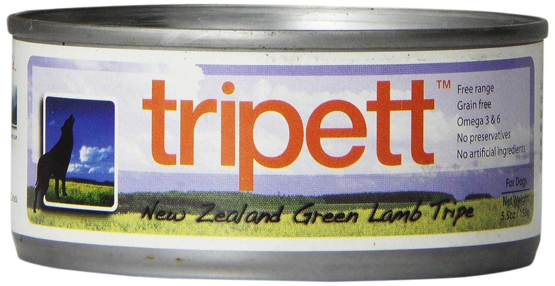 PETKIND 328024 Tripett New Zealand Green Lamb Tripe for Animals, 5.5 -Ounce Can