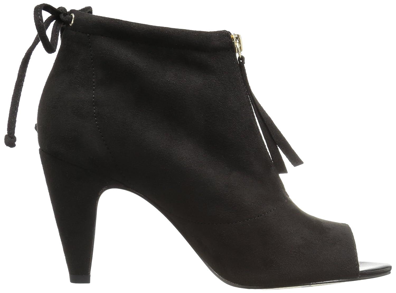 Bella Vita Women's Nicky Ii Ankle Bootie B06ZZYMX6C 10 B(M) US|Black Super Suede