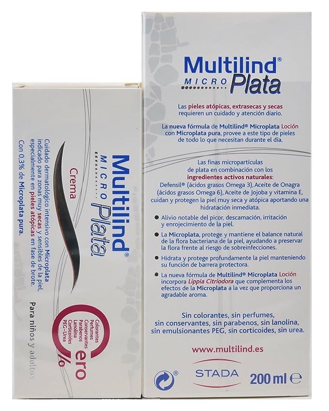 Multilind MicroPlata Pack Brote (Locion 200 mililiter y Crema 75 mililiter): Amazon.es: Belleza