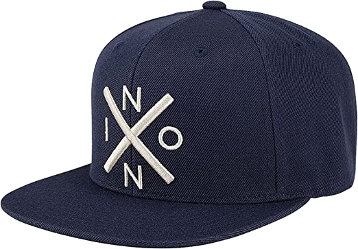 Nixon Iconed Trucker Mens Headwear Cap All Navy One Size