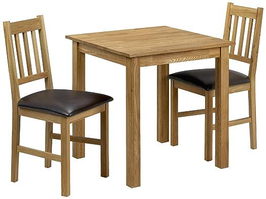 Julian Bowen Coxmoor Square Dining Table Set with 2 Chairs  Light OakJulian Bowen Coxmoor Square Dining Table Set with 2 Chairs  Light  . Oak Dining Table Sets Uk. Home Design Ideas