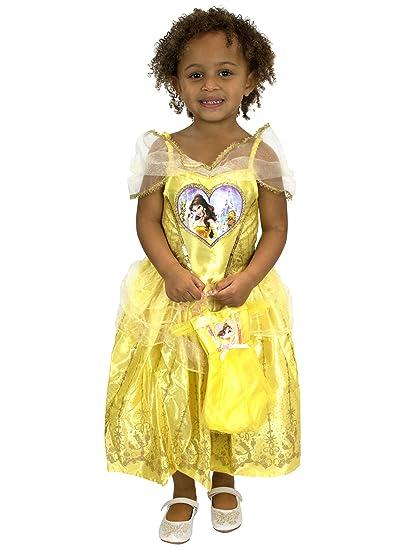 Disney Disfraz Vestido y Bolso para Niñas La Bella y la ...