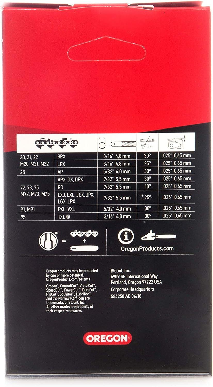 "GENUINE OREGON 91VXL CHAINSAW CHAIN BLADE FOR STIHL MS180 14/"" 1.3mm 3//8/"" .050/"""