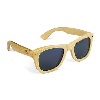 ac3b04fa8adff Amazon.com  Real Solid Handmade Wooden Sunglasses for Men