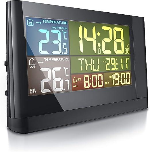 Bearware - Estación meteorológica con proyección de Hora y ...
