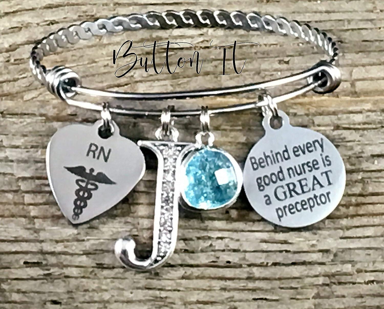clinical instructor gift Nurse graduation gift NP Nurse preceptor gift RN jewelry Nurse thank you gift PRECEPTOR nursing gift BSN Inspirational