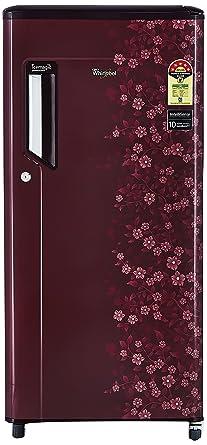 Whirlpool 185 L 5 Star Direct Cool Single Door Refrigerator(200 IMPWCool  PRM 5S, Wine Exotica)