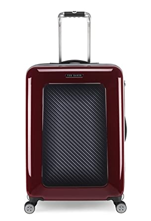 265c64f81703d9 Ted Baker Luggage Herringbone Hardside 28 quot  Spinner Lightweight Rolling  Suitcase (One Size