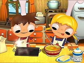Telmo and Tula enseñan a los niños lo importante que es comer fruta y para ello hacen una deliciosa tarta de frutas.
