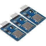 Micro SD TFカードメモリシールドモジュール Arduinoに対応 SPIマイクロSDアダプタ 6PIN(3個セット)