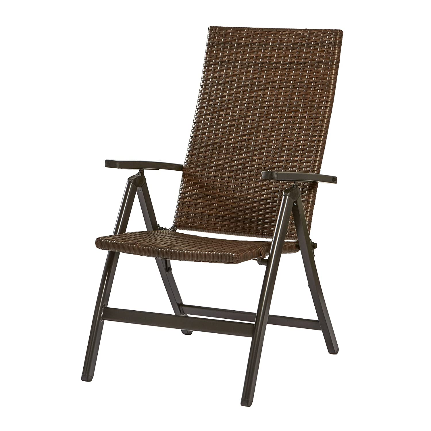 Amazon Greendale Home Fashions Hand Woven PE Wicker Outdoor