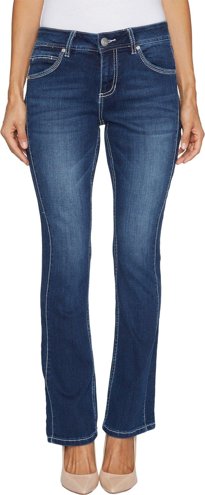 Jag Jeans Women's Petite Bianca Boot Jean, Bucket Blue, 2P