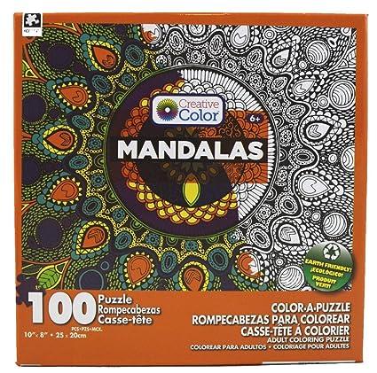Mandalas 100 Piece Adult Color A Puzzle